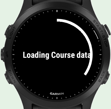 LOADING COURSE DATA image